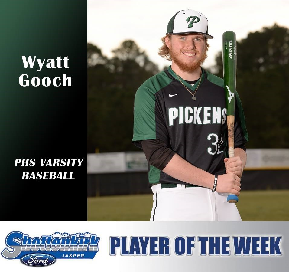 Wyatt Gooch Athlete of the Week